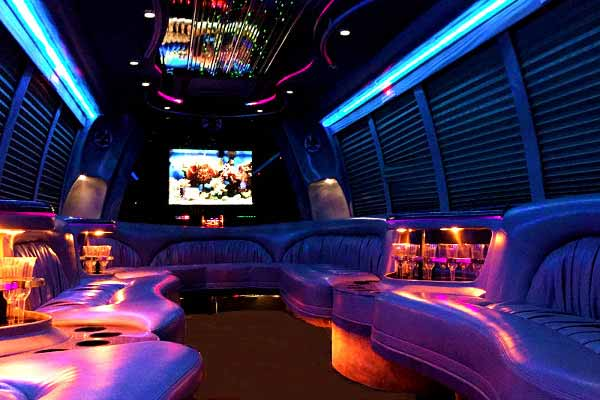 18 passenger party bus rental La Vista