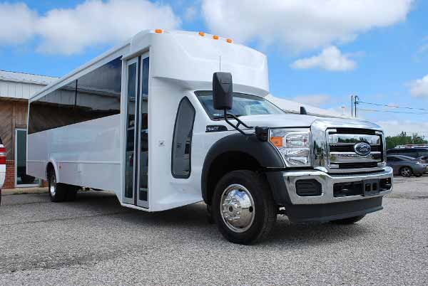 22 Passenger party bus rental Fremont