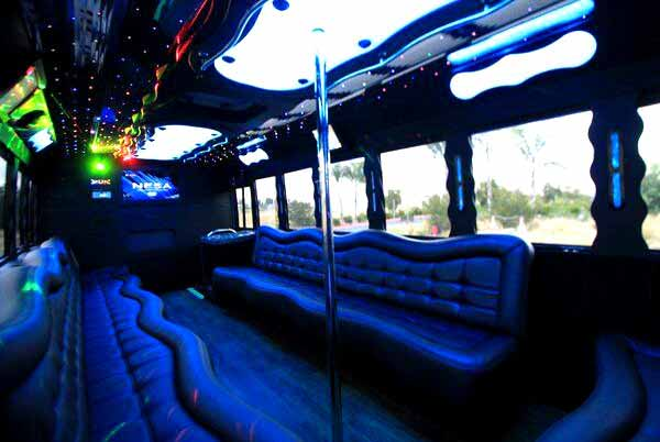 40 people party bus Broken Bow