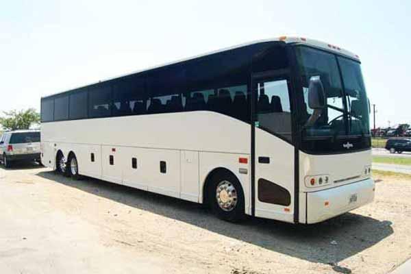 50 passenger charter bus La Vista