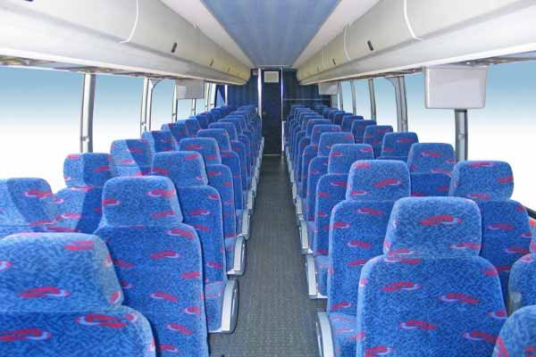50 people charter bus Lincoln