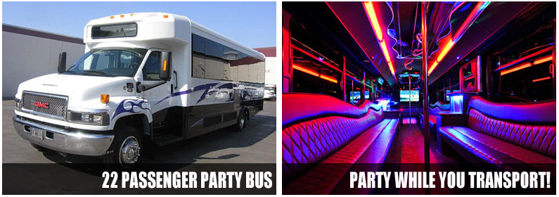 limo party bus rentals lincoln