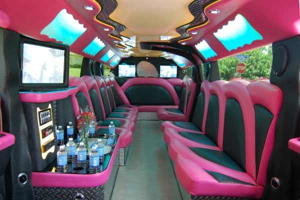 pink hummer limousine Fremont